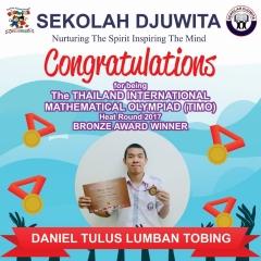 TIMO_DANIEL TULUS - SMP - Bronze Award
