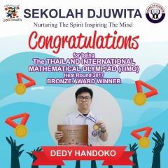 TIMO_DEDI HANDOKO - SMP - Bronze Award