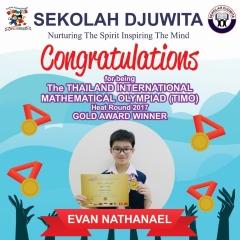 TIMO_EVAN NATHANAEL - SD - Gold Award