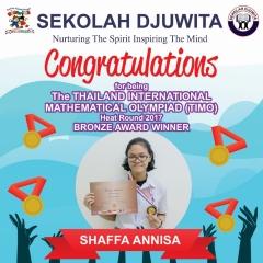 TIMO_SHAFFA ANINISA - SMA - Bronze Award