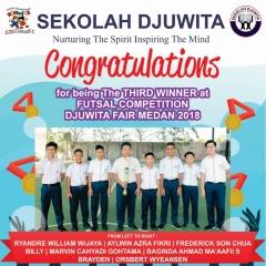 Futsal SMP Juara 3