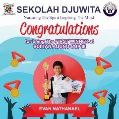 Sultan Agung Cup_Evan