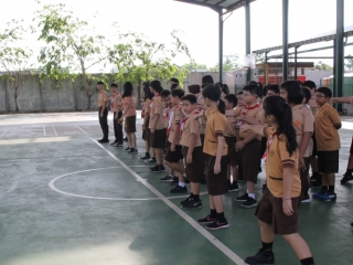 Scout Camp Activity