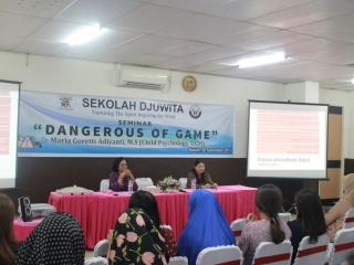 """Seminar """"Dangerous of Game"""""""