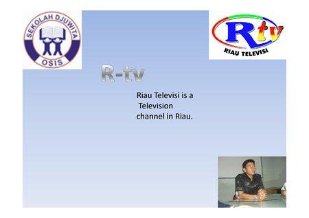 Riau TV Class 8