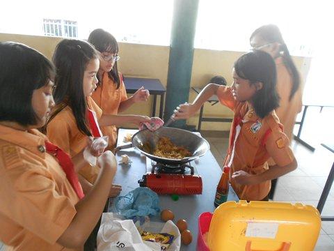 Cooking Food Serving